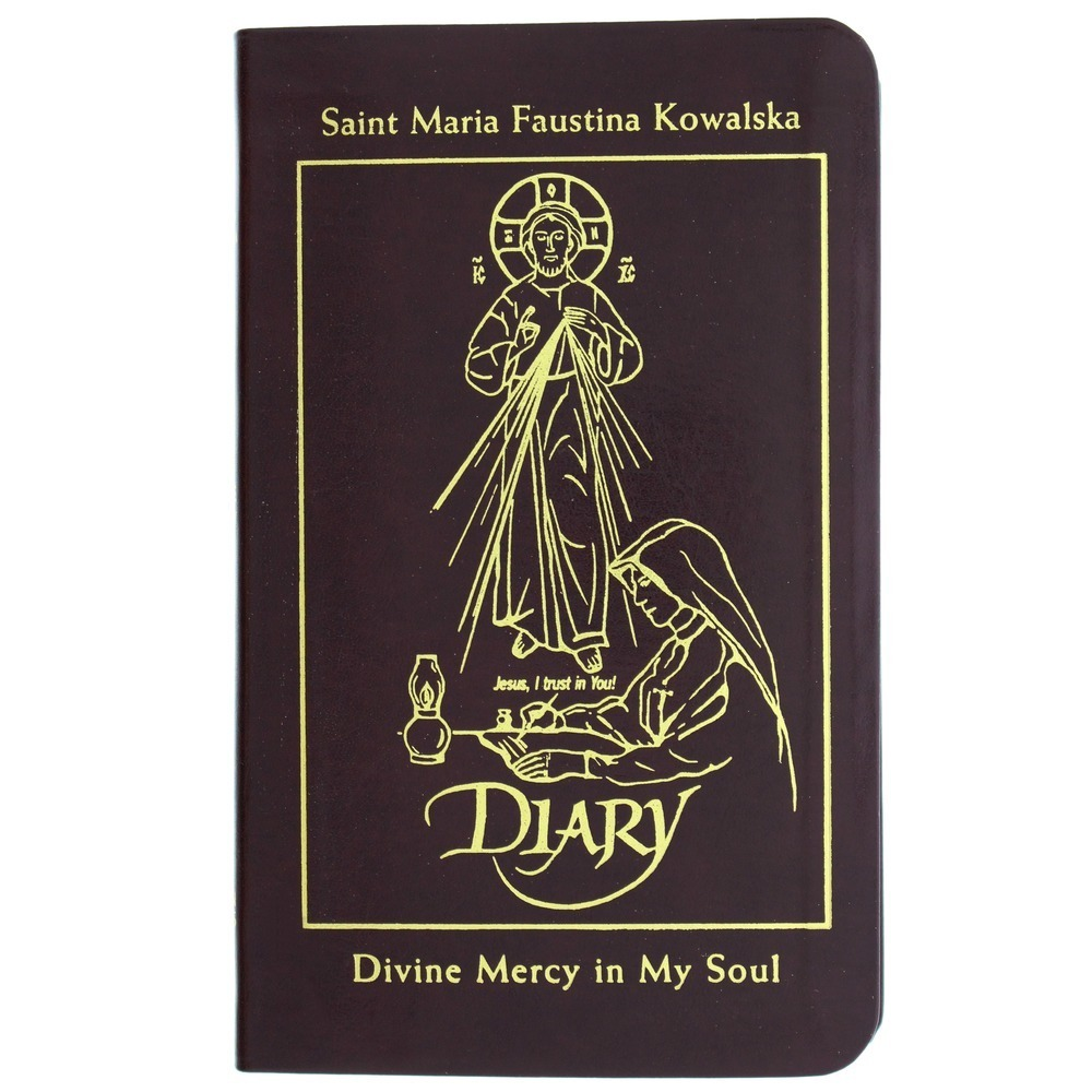 Diary of Saint Maria Faustina Kowalska: Divine Mercy in My Soul (Leather Cover)