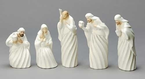 "5 pc  - 7"" Nativity Fig Swirl"