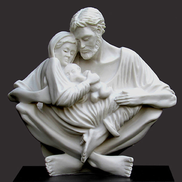 A QUIET MOMENT (Holy Family by Timothy P. Schmalz)