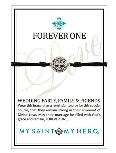 Forever One Bracelets: Wedding Party, Family & Friends (My Saint My Hero)