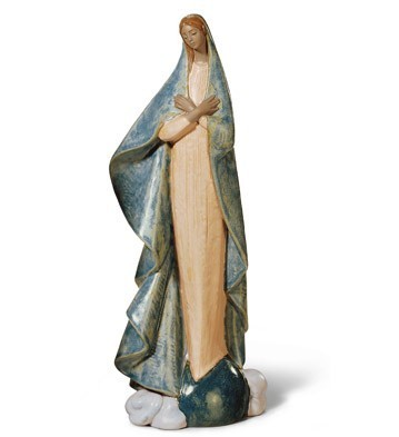 Lladró Collectible Holy Mother Statue