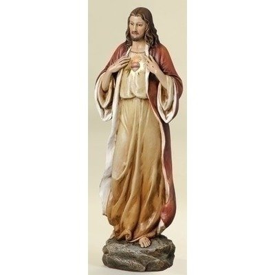 Sacred Heart of Jesus Statue 14