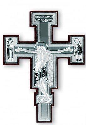 Italian Sterling Crucifix