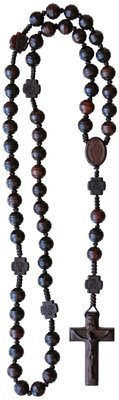 Genuine Jujube Wood Rosary