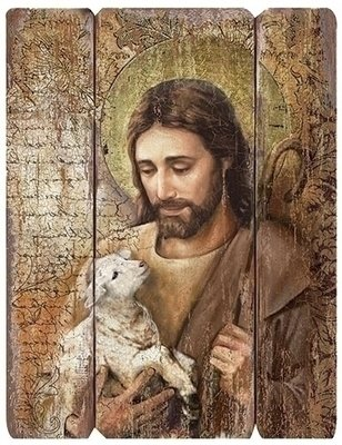 Good Shepherd Wall Plaque