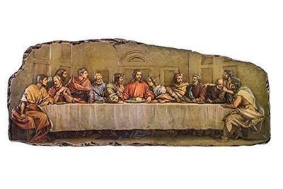 Last Supper Low Relief Wall Plaque