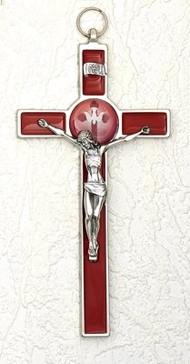 Holy Spirit Red Crucifix Confirmation