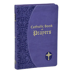 CATHOLIC BOOK OF PRAYERS-IMITATION LEATHER LAVENDER