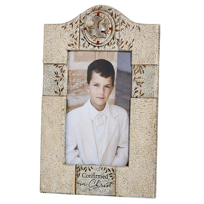 "Confirmed in Christ Photo Frame - holds 4 x 6"" photo"