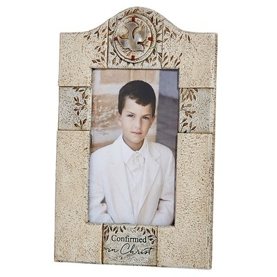 Confirmed in Christ Photo Frame - holds 4 x 6