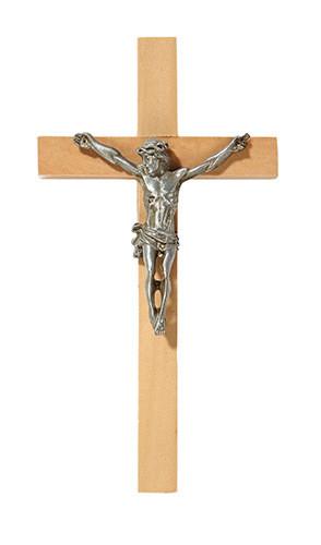 "James Brennan™ 6"" Crucifix Oak Wood"