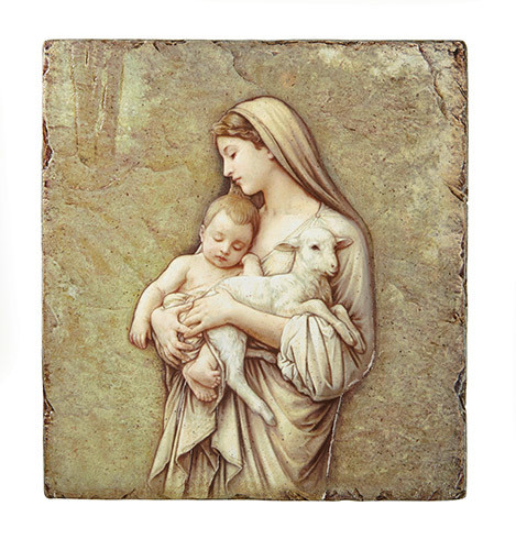 "Bouguereau: Innocence 8"" X 10"" Plaque"