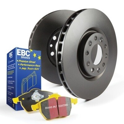 EBC YellowStuff Front Pads & Premium Rotors Mazdaspeed3 MPS3 2006-2013