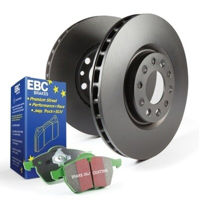 EBC GreenStuff Rear Pads & Premium Rotors Mazda3 Mazdaspeed3 MPS3 2006-2013
