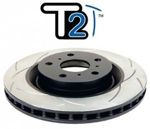 DBA T2 Rear Slotted Rotor Mazdaspeed 3 MPS 3 2006-2013 2957S