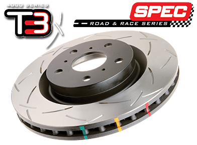 DBA 4000 Front Slotted Rotor Mazdaspeed 6 MPS 6 2005-2007 42960S