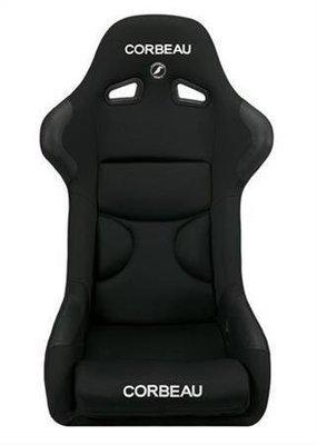 Corbeau FX1 Pro Pair of Seats Black Cloth