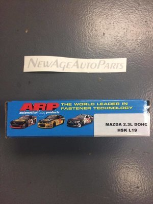 ARP Head Studs L19  Upgraded 800HP Mazdaspeed 3/6 MS3/6 2005-2013