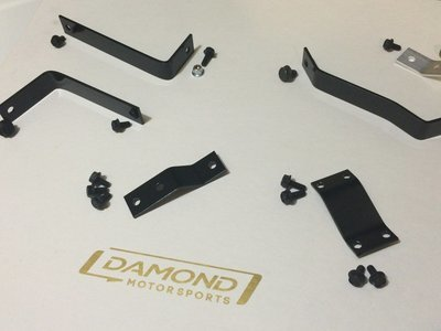 Damond Motorsports Mounting Kits for Oil Catch Cans Mazdaspeed Ford