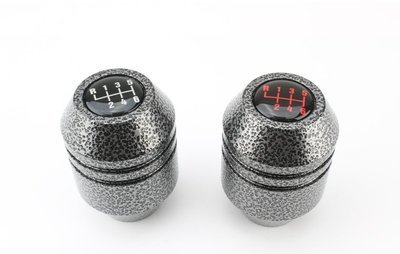 JBR Cylindrical Shift Knob - Silver Vein Mazdaspeed 3/6 MPS 3/6 2005-2013
