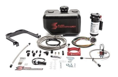Snow Performance Stage 2 Boost Cooler Water-Methanol Inj. Kit w/SS Braided Line & 4AN Fittings