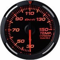 DEFI Red Racer 52mm METRIC Temp Gauge DF06705