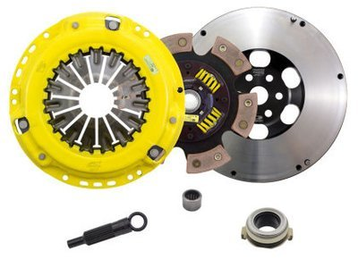 ACT 6 Puck Clutch Kit with Prolite Flywheel Mazdaspeed 3/6 MPS 3/6 2005-2013 ZX4-HDG6 530 ft lbs