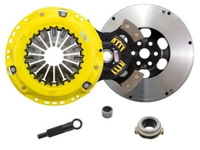 ACT 4 Puck Clutch Kit with Prolite Flywheel Mazdaspeed 3/6 MPS 3/6 2005-2013 ZX4-HDG4 530 ft lbs
