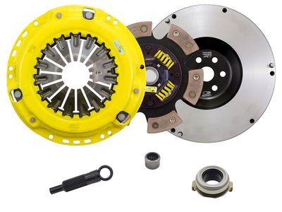 ACT 6 Puck Clutch Kit with Streetlite Flywheel Mazdaspeed 3/6 MPS 3/6 2005-2013 ZX5-HDG6 530 ft lbs