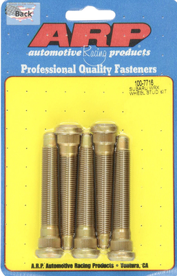 ARP Extended Wheel Studs Five Packs for Subaru Models