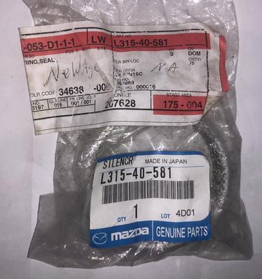 Mazda OEM Silencer Seal Ring Mazdaspeed 3/6 MPS 3/6 2005-2013 L315-40-581