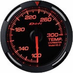 DEFI Red Racer 52mm Temperature (water or oil) Gauge (US)