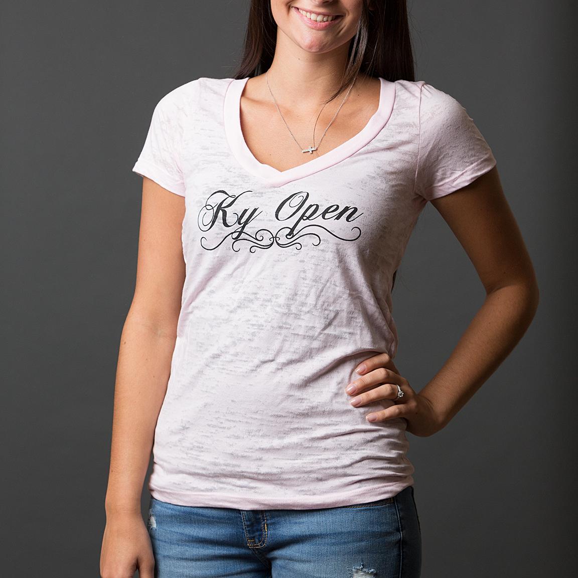 Official KY Open V-Neck T-Shirt