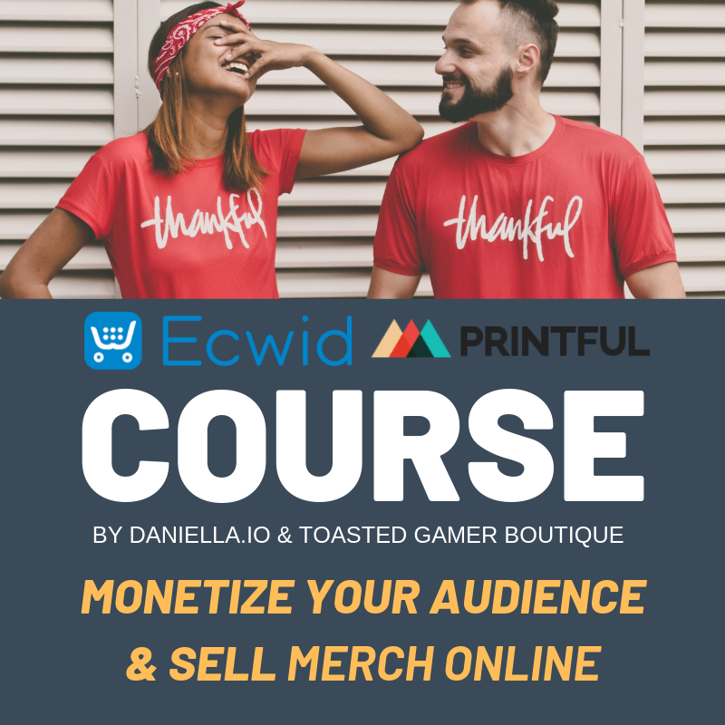 Printful Print on Demand for Ecwid eCommerce Course COUR4