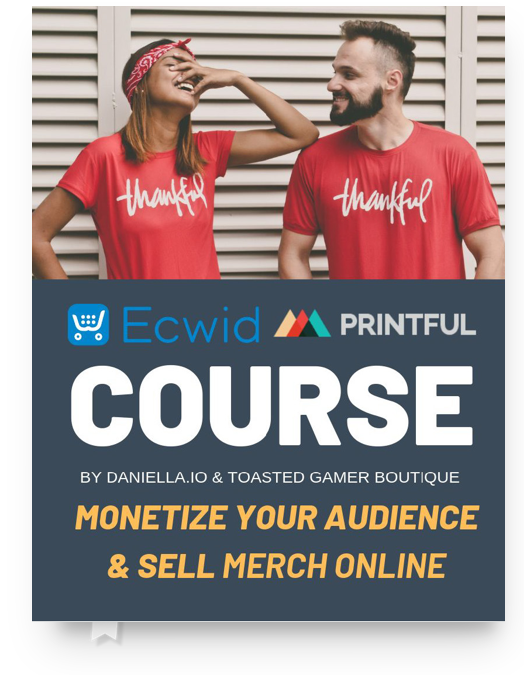 Printful Print on Demand for Ecwid eCommerce Course
