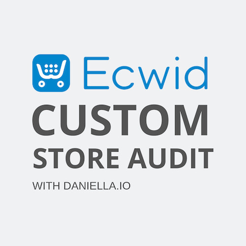 Custom Ecwid Store Audit