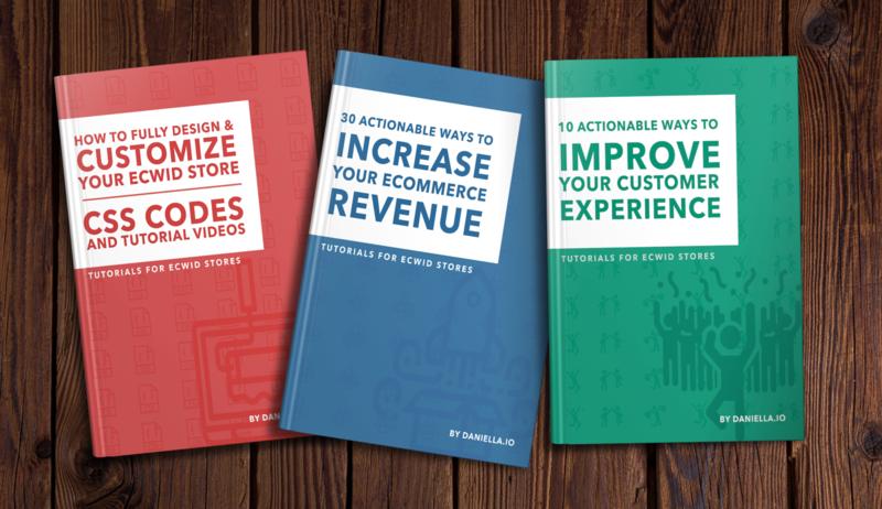 Ecwid eBooks | 3 eBook Value Pack