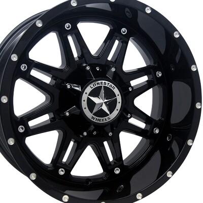 20x10 Gloss Black Outlaw Wheel, 6x5.5(139.7mm) & 6x135mm