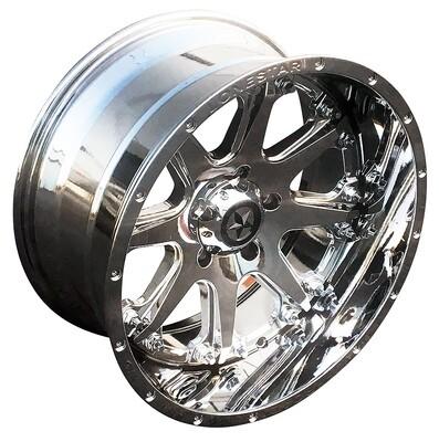 20x10 Chrome Lonestar Bandit Wheel, 5x5.5mm, Ram 1500