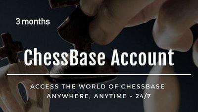3 months ChessBase Premium Account