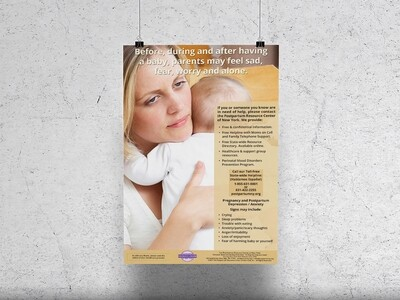 Postpartum Resource Center of New York Posters (1 piece)