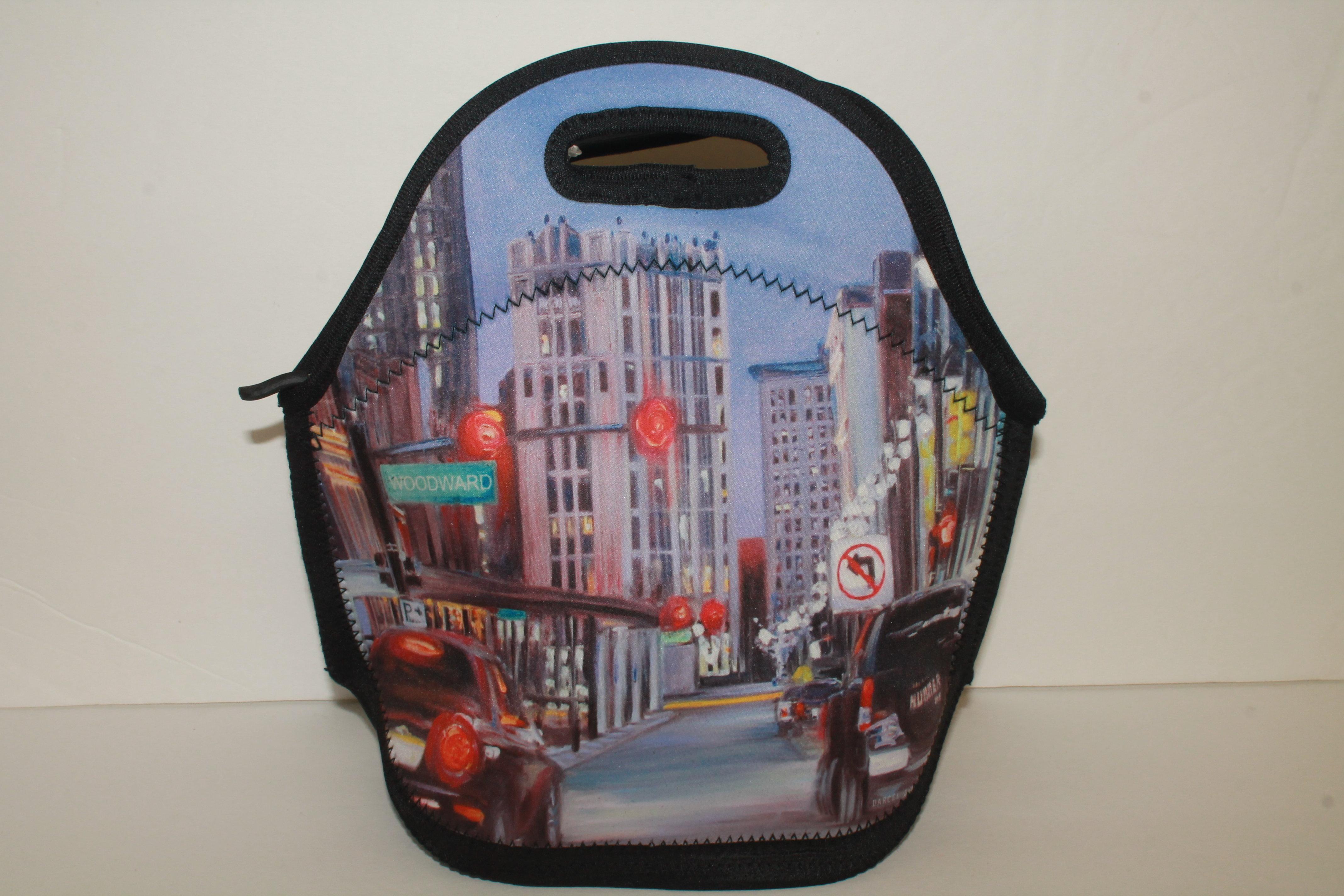 Art Wear Detroit Cooler tote 00024