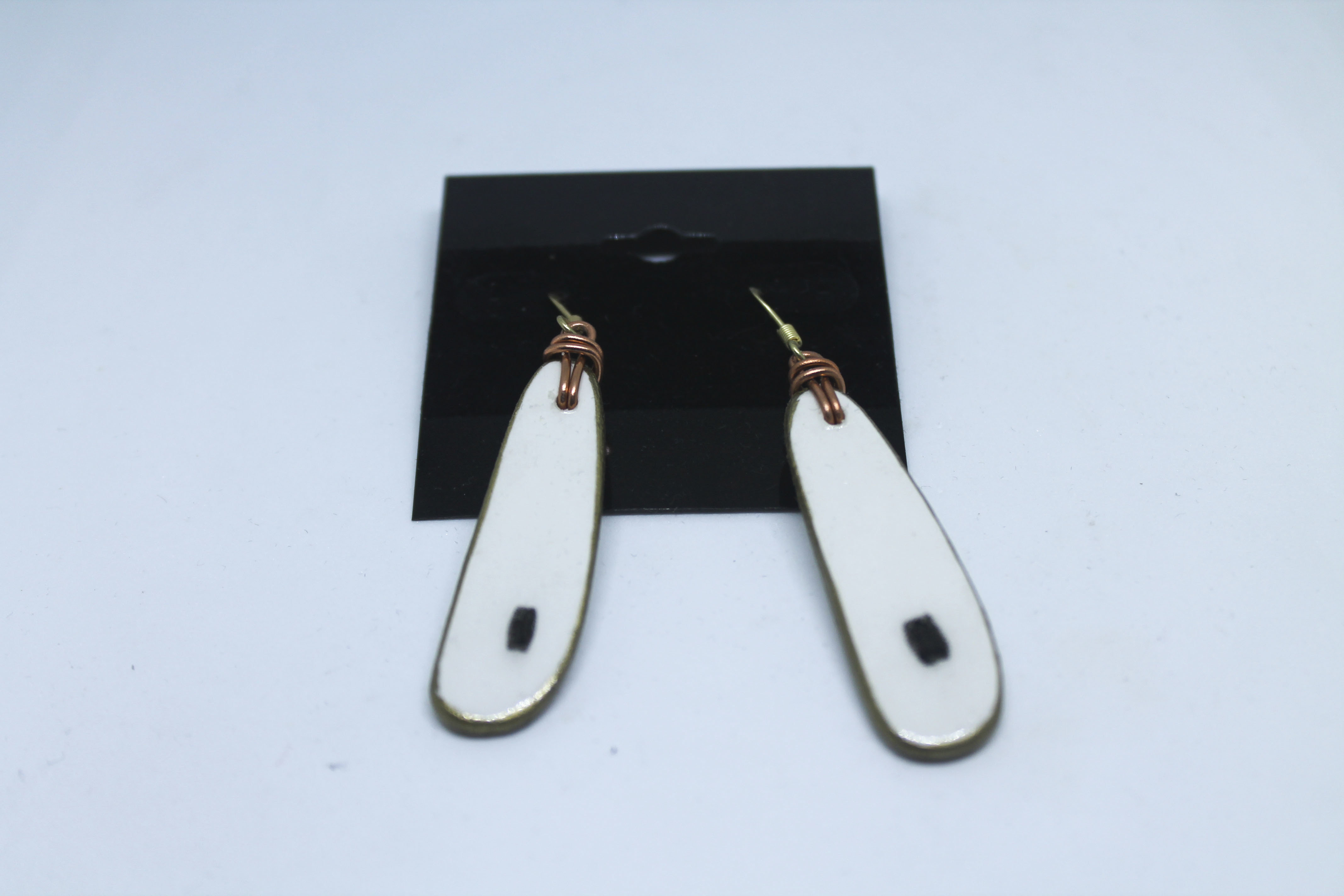 Wood Earrings 00118