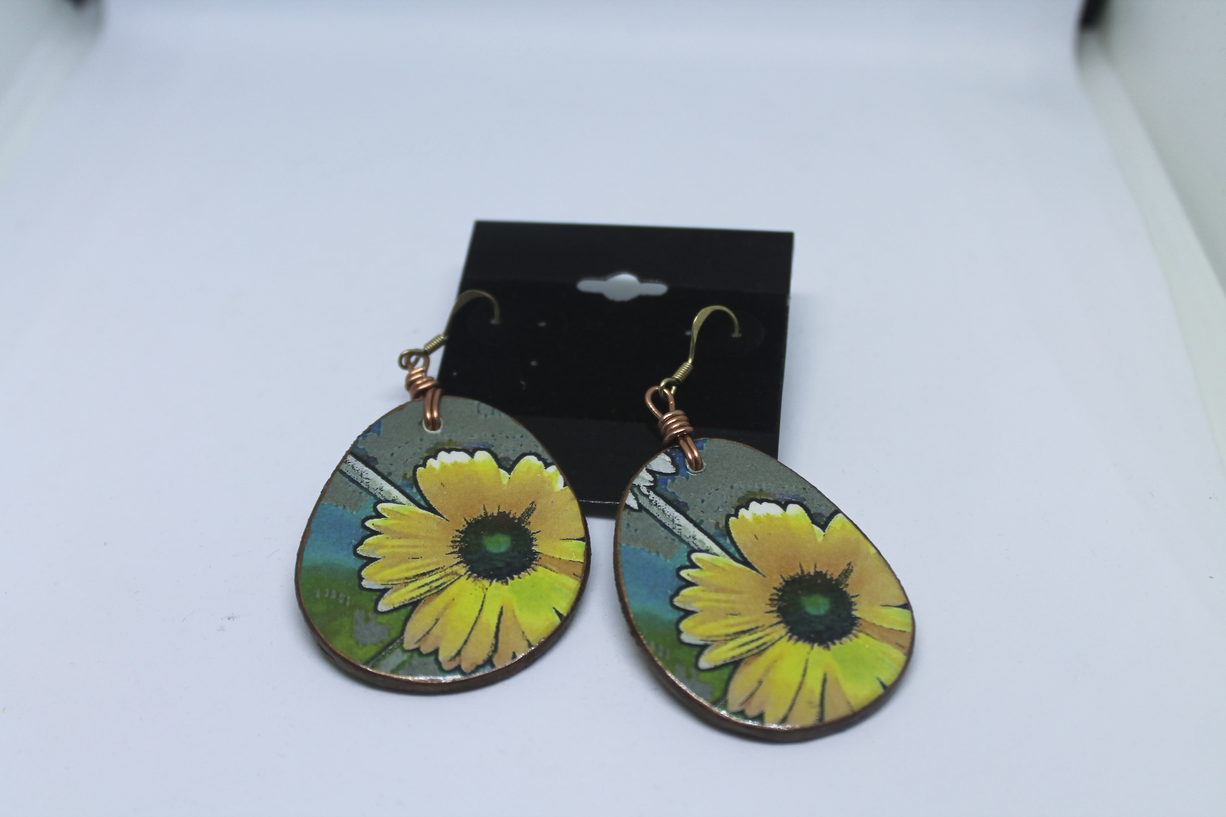 Wood Earrings 00122
