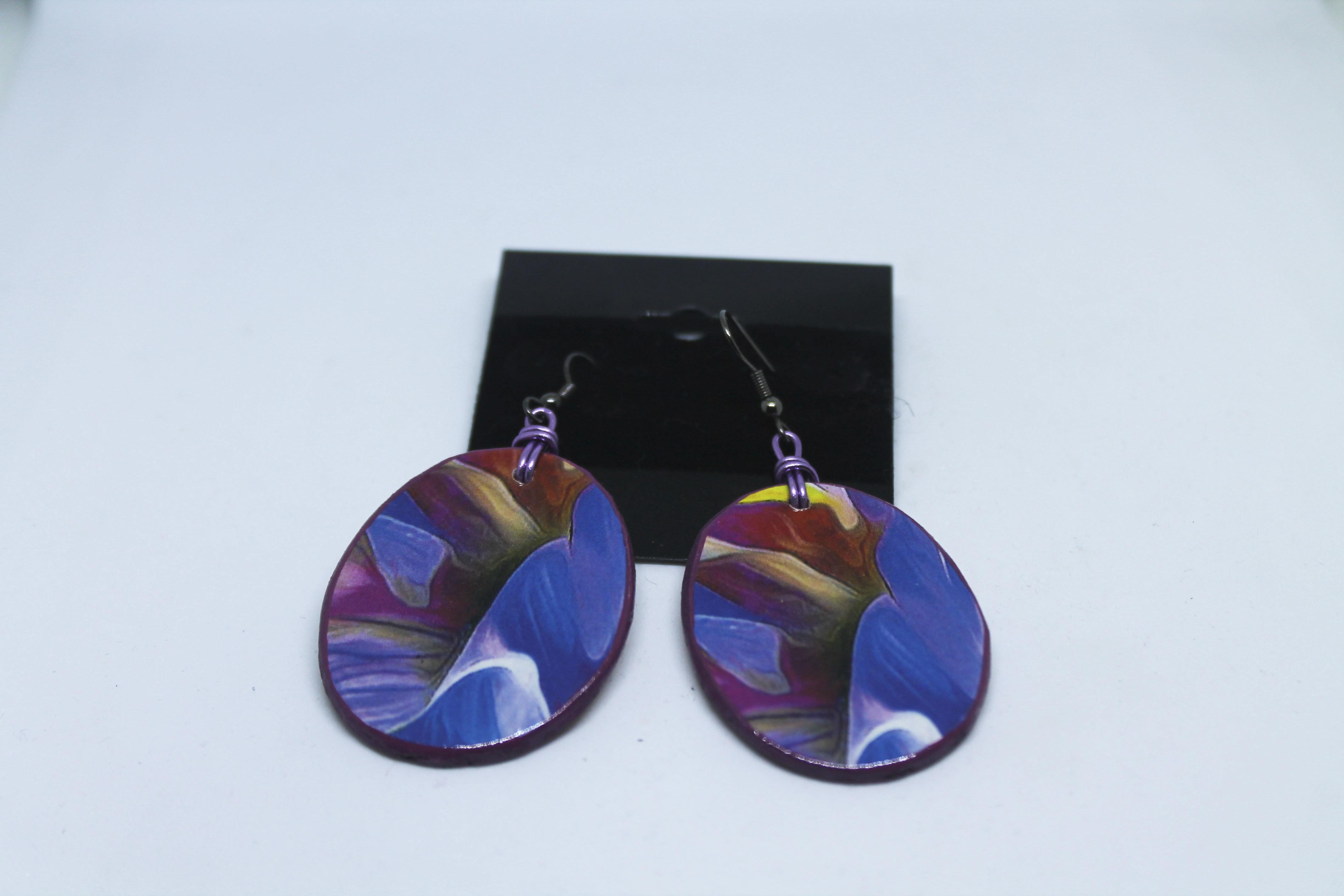 Wood Earrings 00125