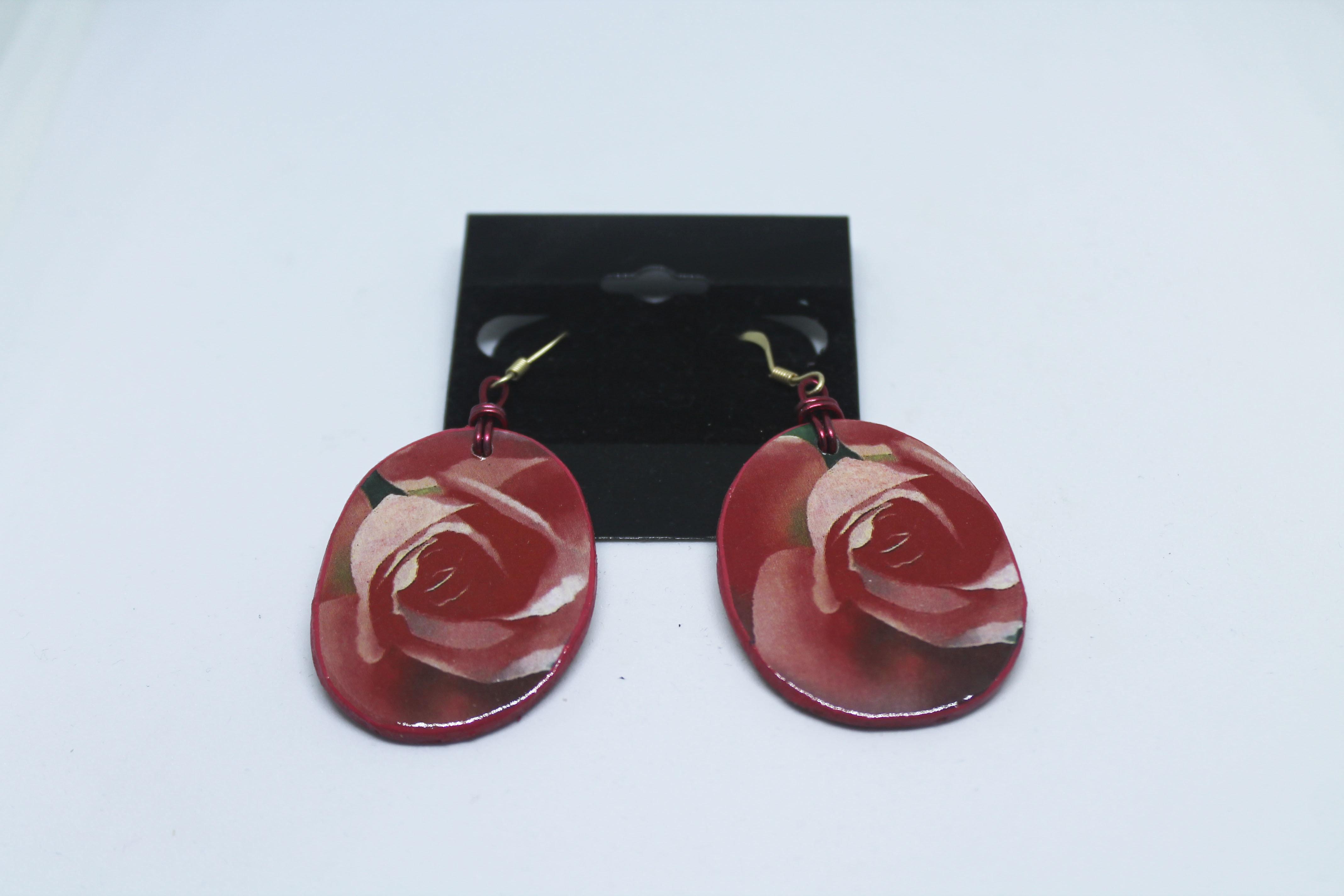 Wood Earrings 00126