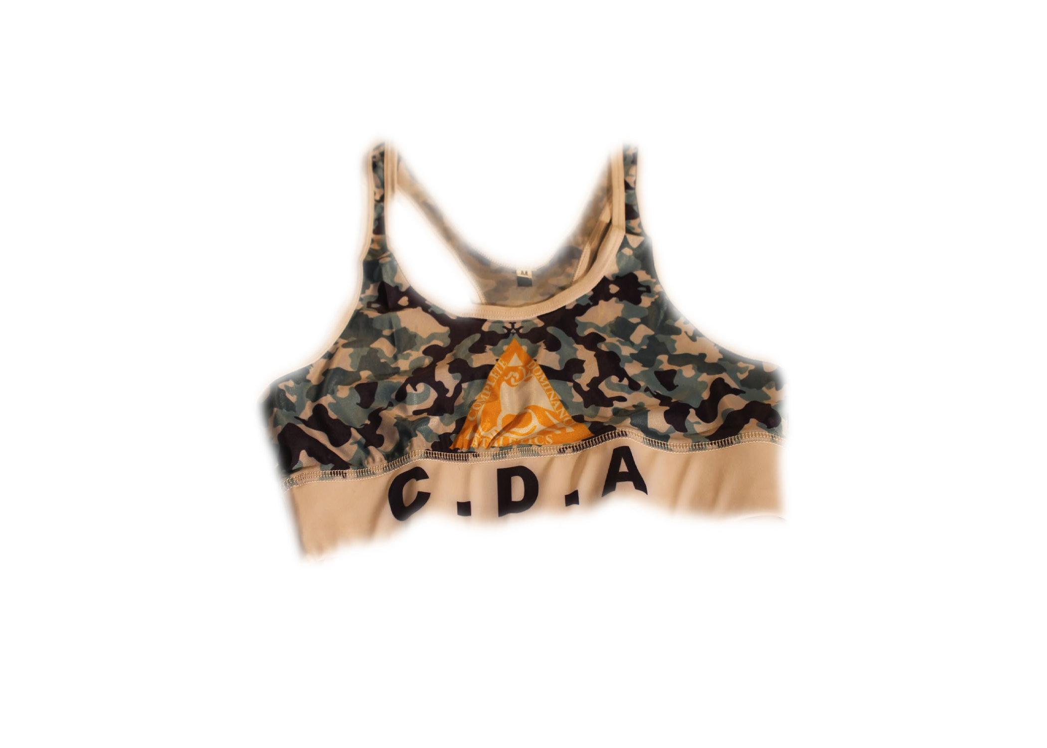 CDA camo sports bra 00239