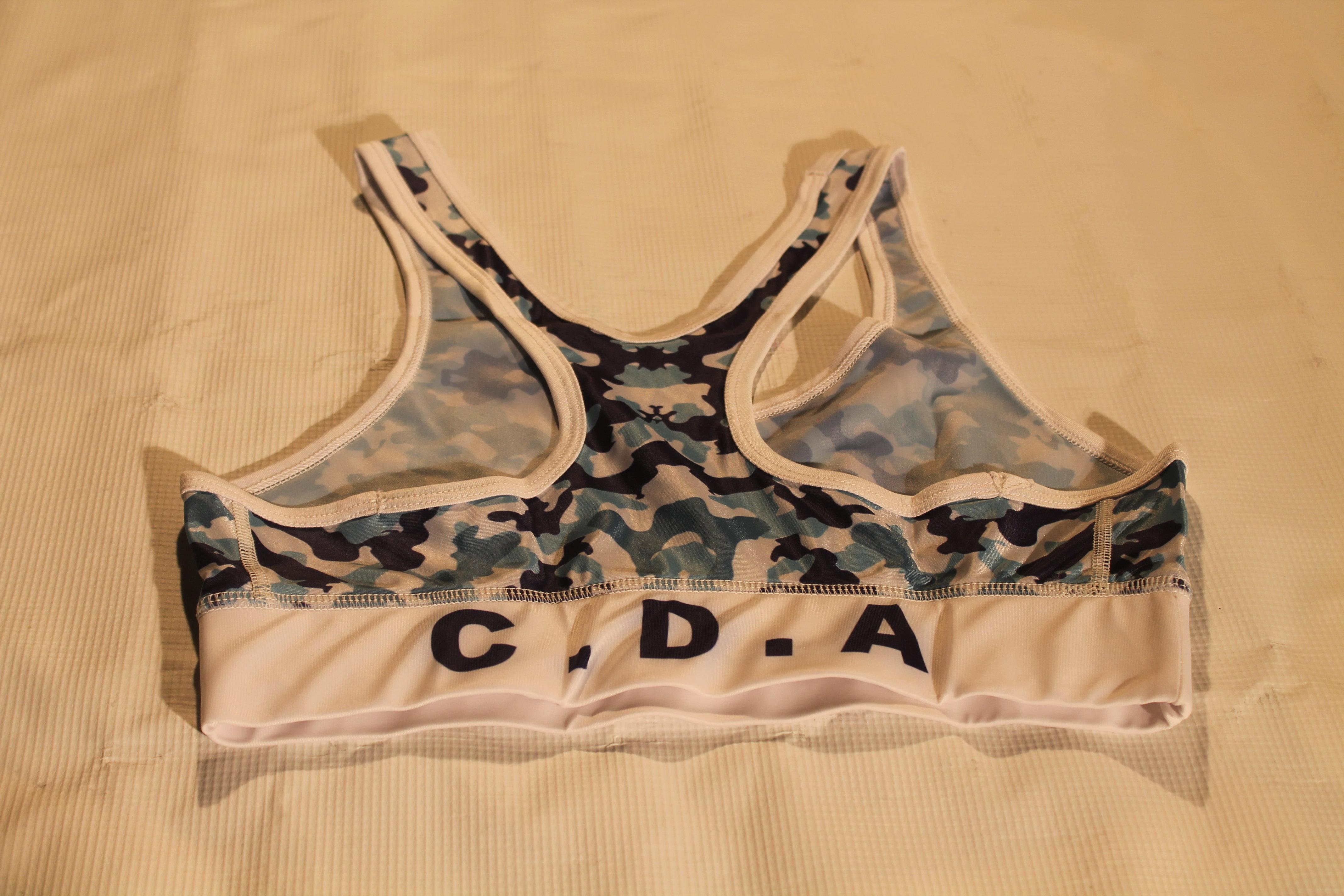 CDA camo sports bra