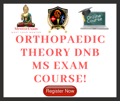 DNB MS Orthopaedics Theory Exam Online Course