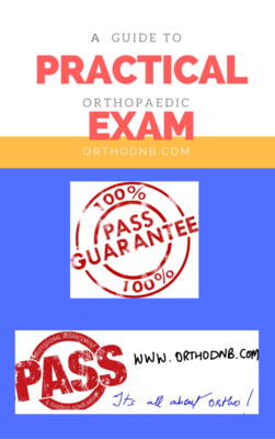 Ortho Practical Exam Guide